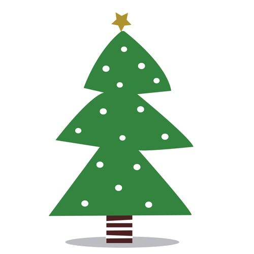Image of Vinilo Árbol de Navidad 3