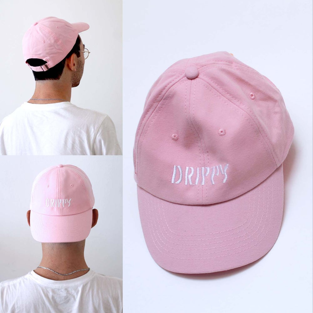 Image of Drippy Hat (Pink)