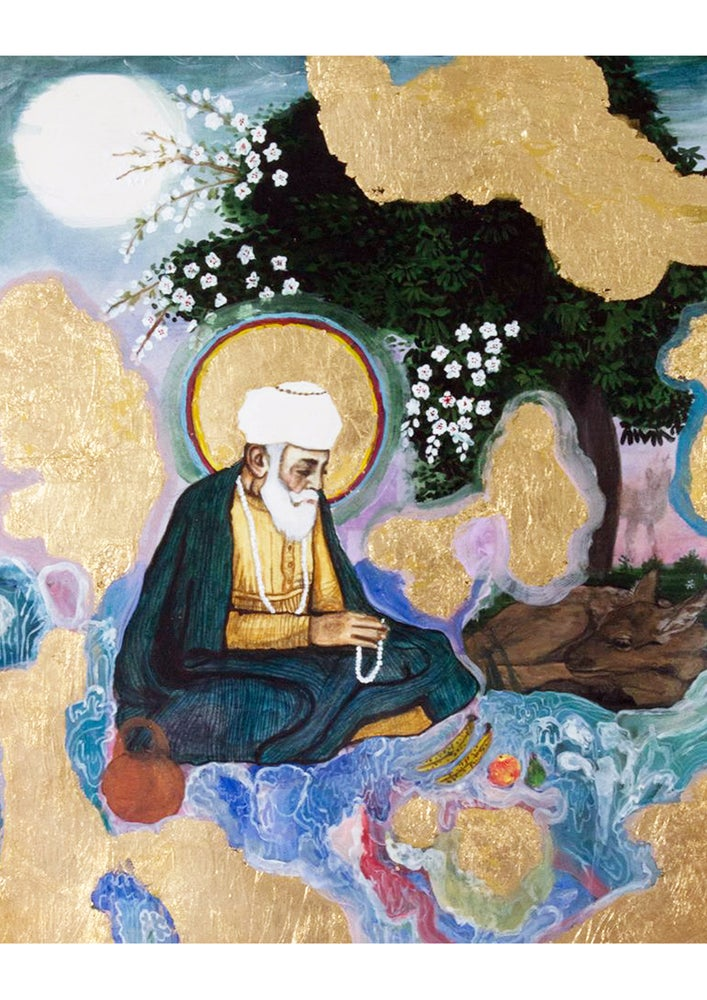 Image of Fine Art Print - Guru Nanak Dev Ji - A3, 2nd Edition