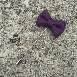 Image of Violet Beaux Lapel Pin