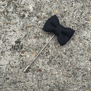 Image of Black Beaux Lapel Pin