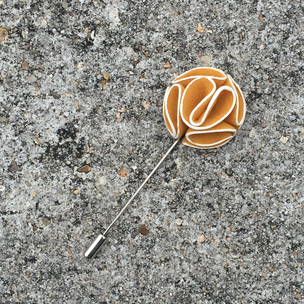 Image of Mustard Lapel Pin
