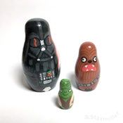 Image of Limited Edition Mini Star Wars Nesting Dolls