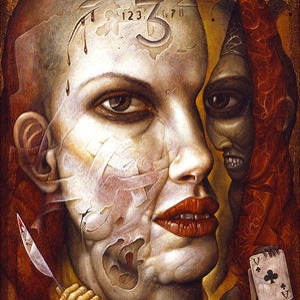 Image of Chris Mars: Vanity Card Print