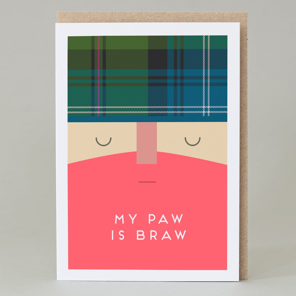 Image of My Paw is Braw Card