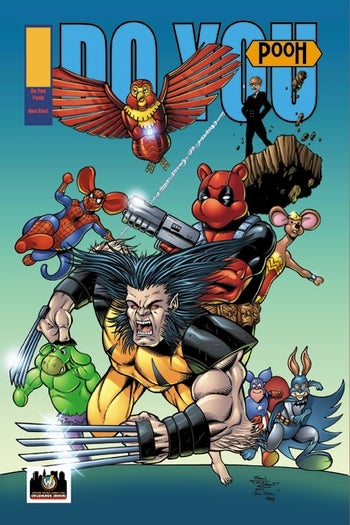Image of Do You Pooh? #1 X-Men Age of Apocalypse Homage Variant by Sean Forney