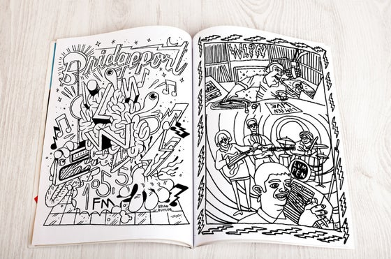 Image of The Lumpen Radio Coloring & Activity Book