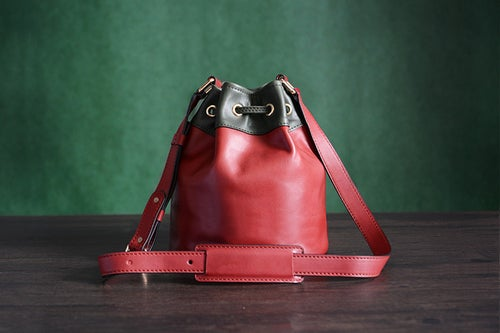 Image of Custom Handmade Genuine Leather Messenger Shoulder Bag Crossbody Bag D038
