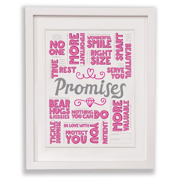 Promises Print (Daughter)
