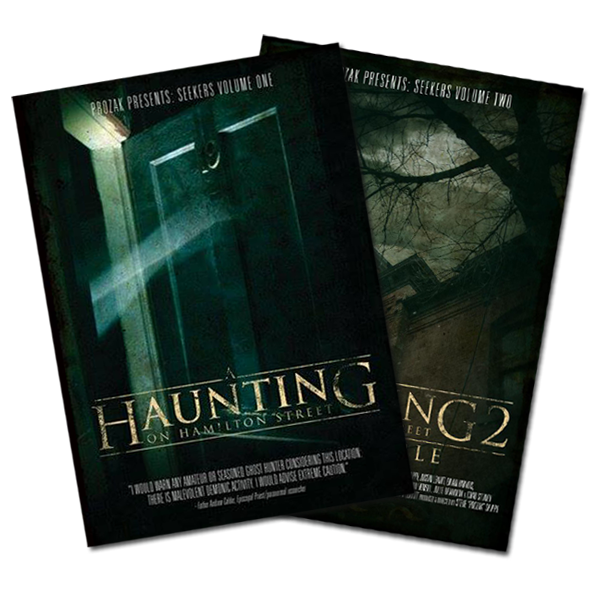 Image of A Haunting on Hamilton Street Volumes 1 & 2 Combo Pack