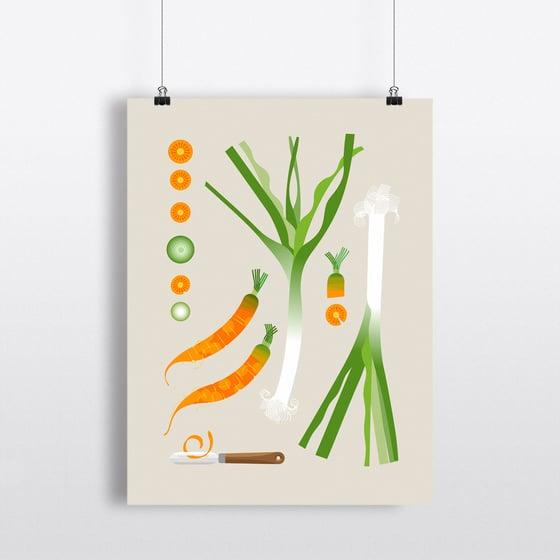 Image of l'épluche légumes