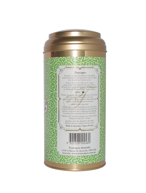 Image of Gorgeous Green Herbal Infusion, Opulent Pyramid Tea Bags