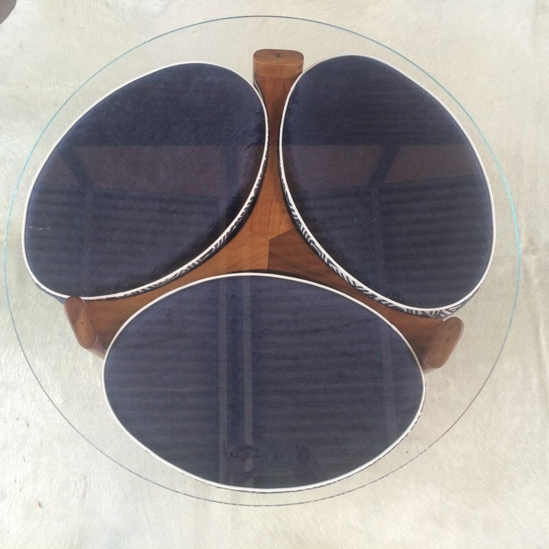 Image of DELPHINIUM TH Brown Propellor Table