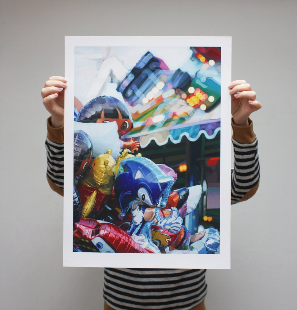 Image of 'Balloons' - Limited Edition Print - 61cm x 44cm