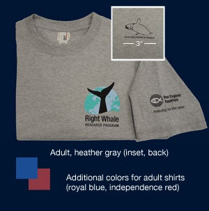 Image of Adult Right Whale t-Shirt