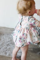 Image 5 of INFANT - Gold Collar Girl Dress/Top + Button Bloomers