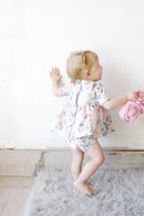 Image 2 of INFANT - Gold Collar Girl Dress/Top + Button Bloomers