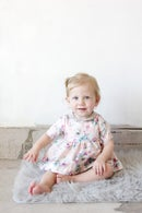 Image 1 of INFANT - Gold Collar Girl Dress/Top + Button Bloomers