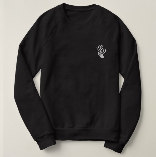 Image of Embroidered Logo Sweatshirt (Black, Grey, or Navy)