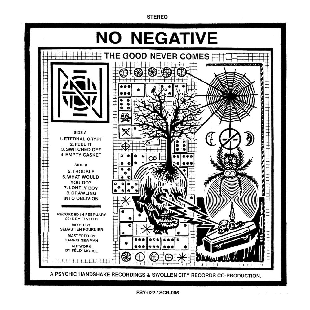 "Image of No Negative - The Good Never Comes 12"" LP"