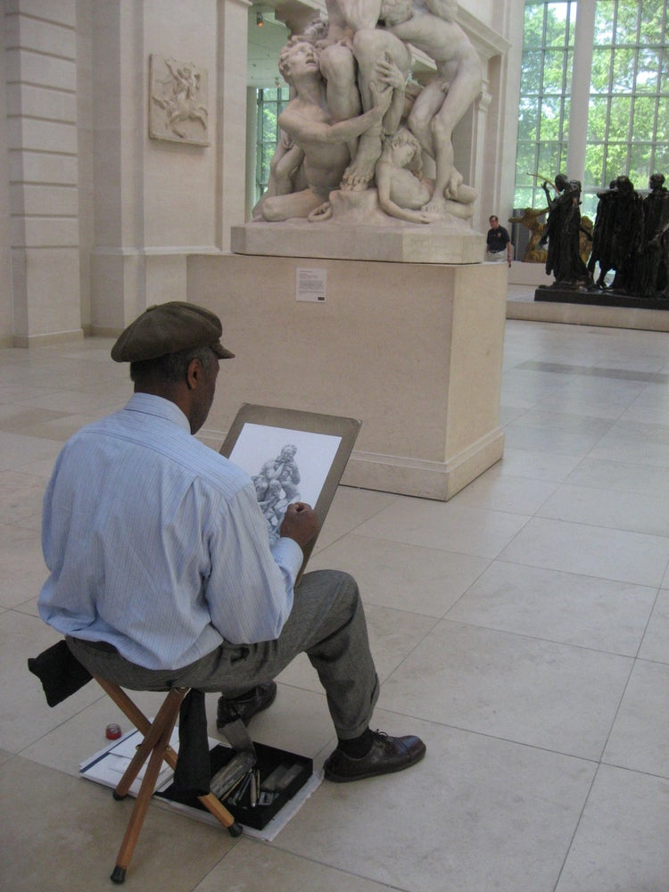 Image of ARTIST AT WORK