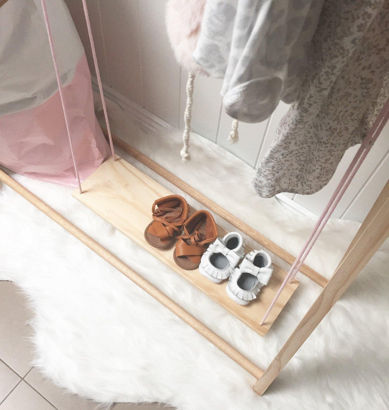 Image of Small Floating shoe shelf - 50cm x 14cm