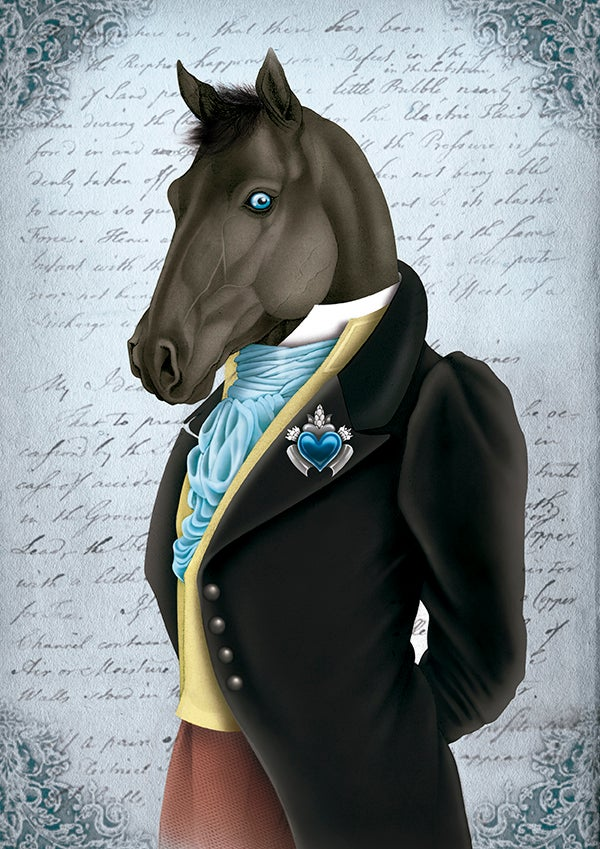 Image of Rudolph the horse
