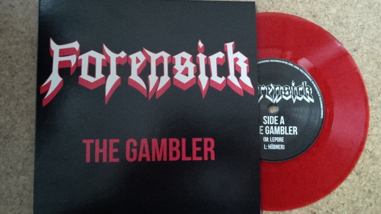 Image of EP The Gambler - RED CLEAR VINYL
