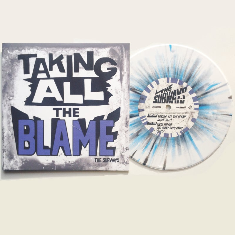 """Image of Taking All The Blame - 7"""" Vinyl EP"""