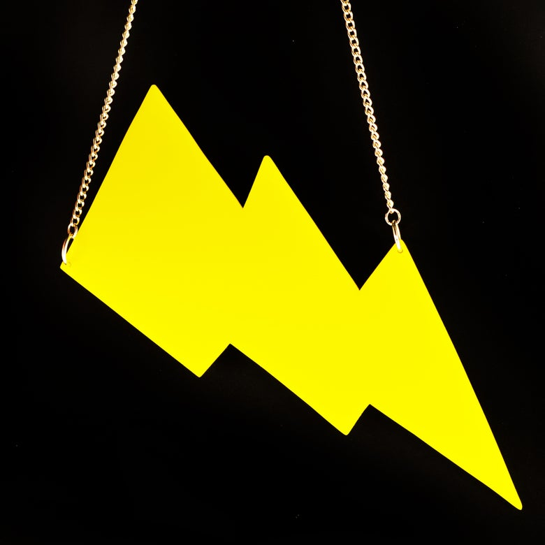 Image of Piney Gir Lightning Bolt Necklace
