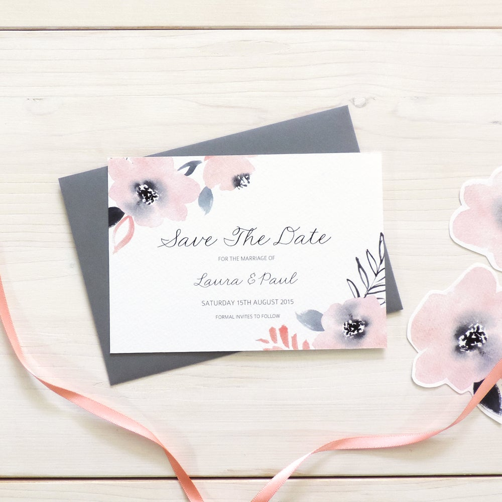 Image of Sweet Posey Bespoke Save The Date