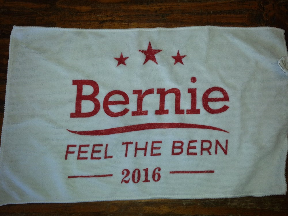 Image of Bernie Feel The Bern 2016 Microfiber Rally Towel - Bernie Sanders - Bernie for President 2016