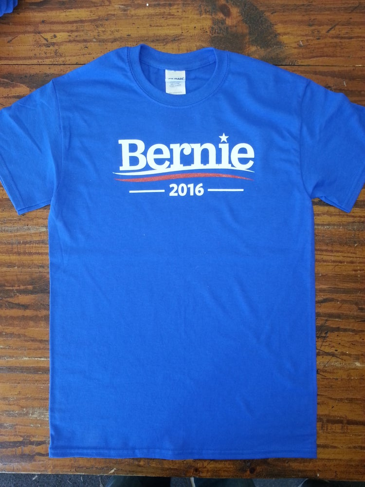Image of Bernie 2016 - Bernie Sanders T-Shirt - Feel The Bern - Bernie for President