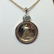 Image of Lady Liberty Necklace