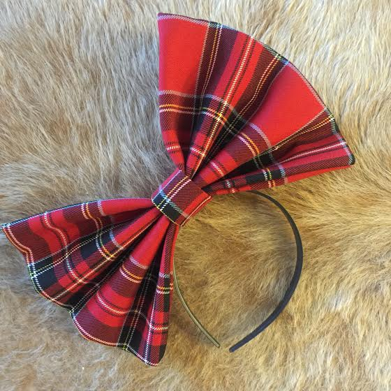 "Image of ""TIMBER"" Hair Bow *Handmade by Millionaires*"
