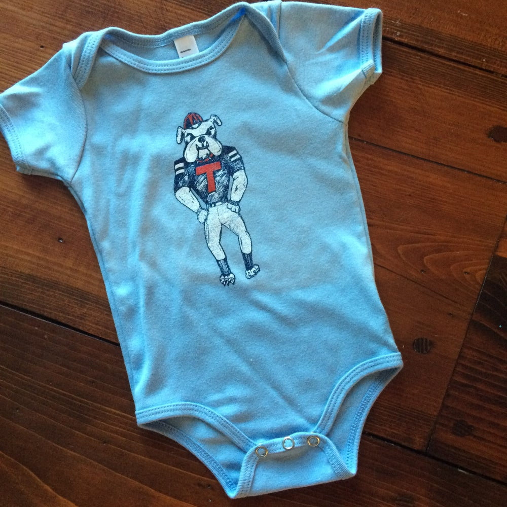 Image of Baby Champ the Bulldawg Onesies