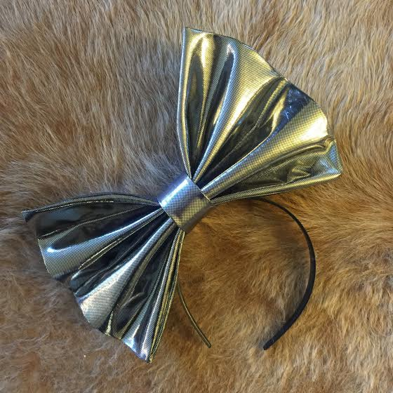 "Image of ""SORRY I'M PERFECT"" Hair Bow *Handmade by Millionaires*"
