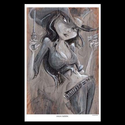 Image of Highnoon Art Print