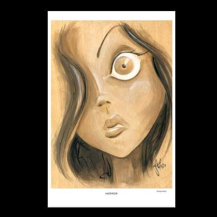 Image of Horror Art Print