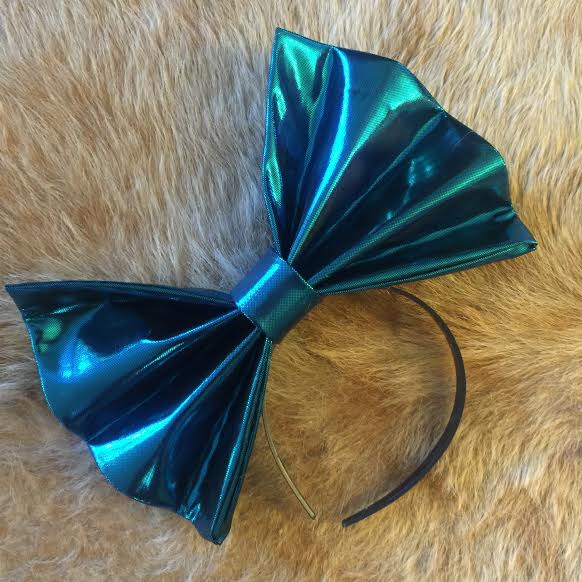 "Image of ""BLUE BALLZ"" Hair Bow *Handmade by Millionaires*"
