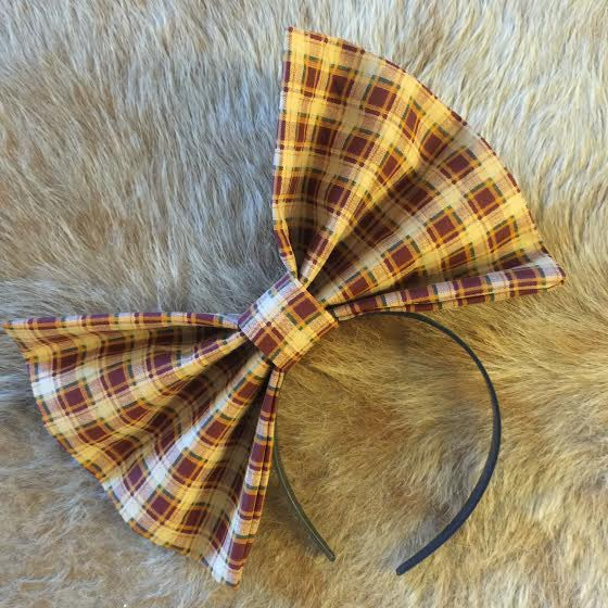 """Image of """"FALL 4 U"""" Hair Bow *Handmade by Millionaires*"""