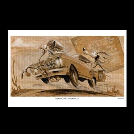 Image of Roadrunner Art Print