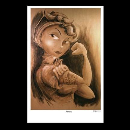 Image of Rosie Art Print