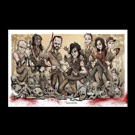 Image of Walkers Art Print
