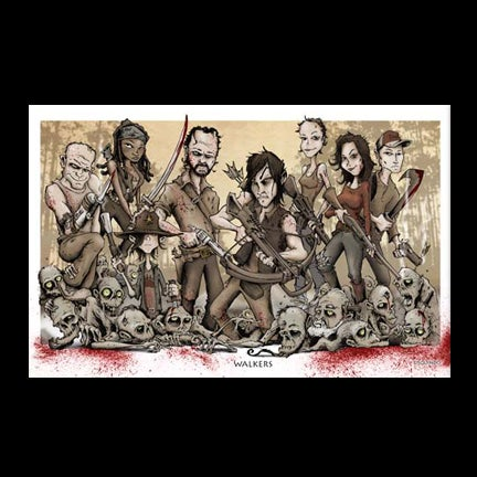Image of Walkers Art Print