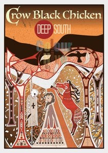 Image of Poster - Deep South ( A2 size )