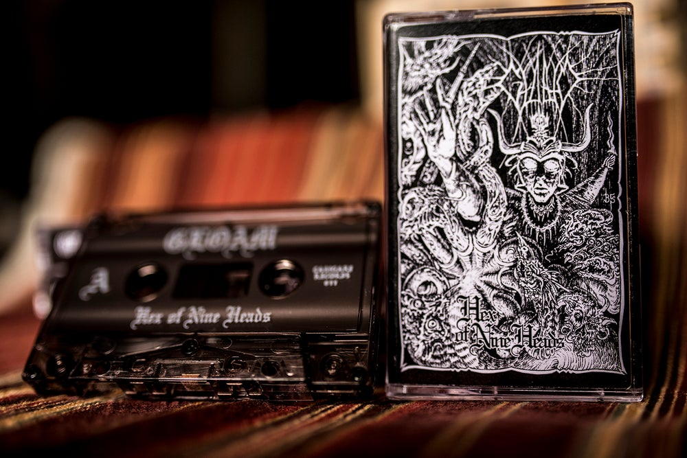 Image of Hex of Nine Heads Cassette