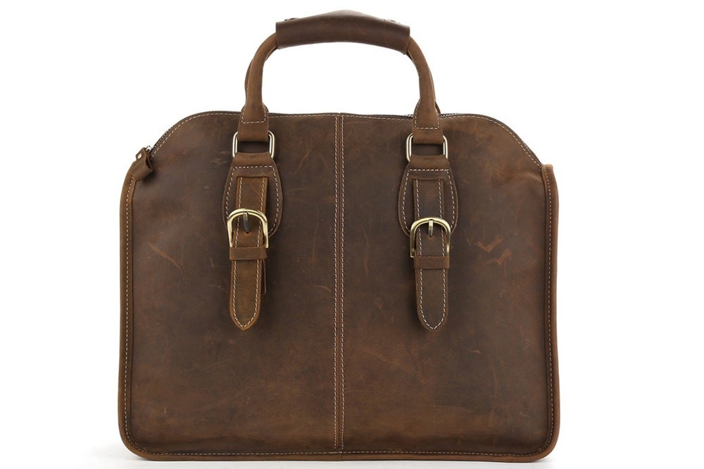 11847d7b9ece MoshiLeatherBag - Handmade Leather Bag Manufacturer — Handcrafted Antique  Leather Laptop Briefcase Mens Messenger Shoulder Bag 3857