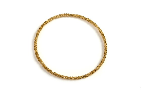 Image of 9ct Gold Stark Bangle