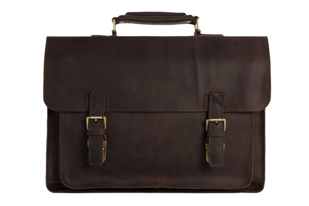 MoshiLeatherBag - Handmade Leather Bag Manufacturer — 15   Handmade Vintage  Genuine Leather Briefcase Messenger Bag Laptop Bag Men s Handbag 7205 9df6dc1ed1760